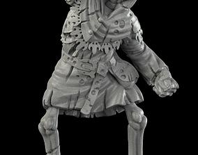 monster Medieval skeleton 2 3D print model
