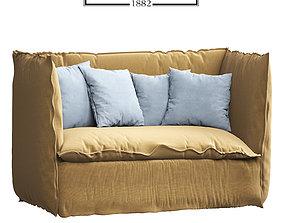Soft sofa Gevarsoni 3D