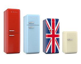 3D Smeg fridges