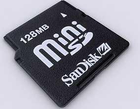 MiniSD 3D model