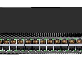 3D model Junpiper EX3300 Metro Ethernet Switch
