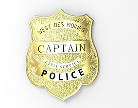 3D printable model POLICE BADGE