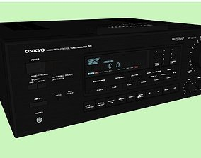 3D Onkyo Stereo Receiver With Remote