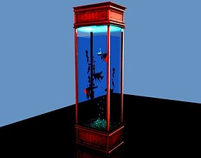 rendering Aquarium 3D model