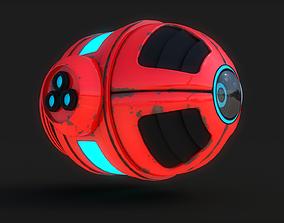 Sci Fi Drone 3D