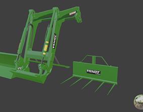 Fendt Cargo Package 3D model
