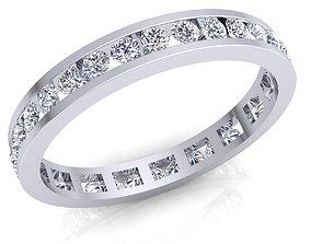 Fancy Diamond Ring 3D print model luxury