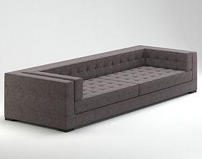 3D Grey German Quality Sofa