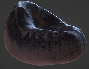 3D model game-ready Bean Bag