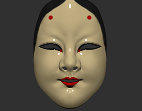 3D print model Japanese Mask The Deep World of Noh - Noh