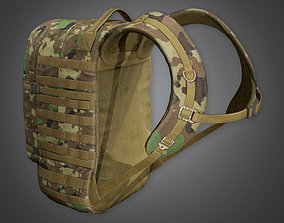 3D asset MLT - Military Backpack 09 - PBR Game Ready