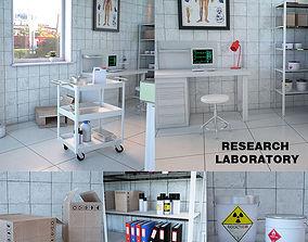Research Laboratory Interior 3D model