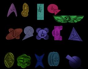 3D print model logos