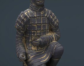 3D model Terracotta Warriors Archer