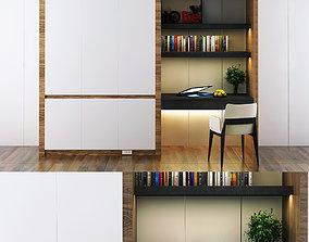 3D model Modern wardrobe furniture