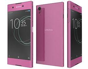 Sony Xperia XA1 Plus Pink 3D model