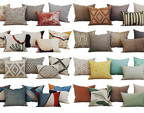 3D model Decorative set pillow vol 3