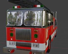 Fire Truck 81 3D model
