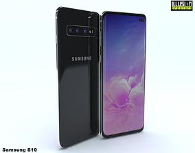 3D model Samsung S10 andriod