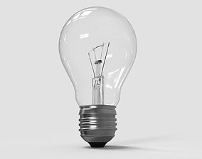 regular 3D model Light Bulb