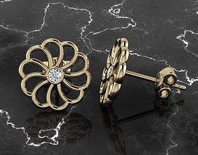 Jewelry Earring jewel 3D print model