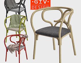 Brezel - Gebrueder Thonet Vienna Chair 3D model