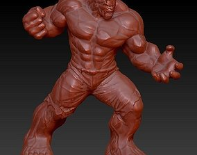 3D model incredible hulk zbrush sculpt