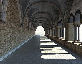 3D asset Hall Medieval