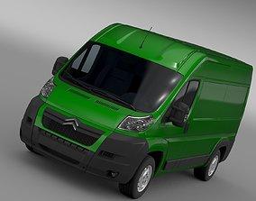 3D Citroen Relay Van L2H2 2006-2014