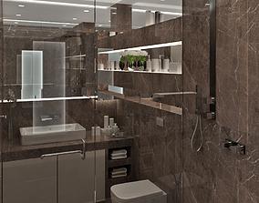 Bathroom interior 05 3D