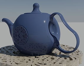Teapot 3D printable model kitchenware