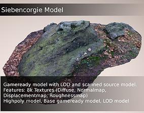 3D model Large Sandstone Formation