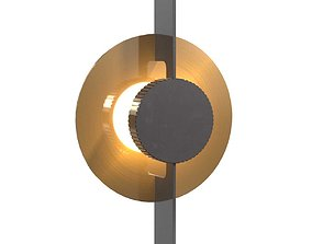 3D Holly hunt sunspot sconce