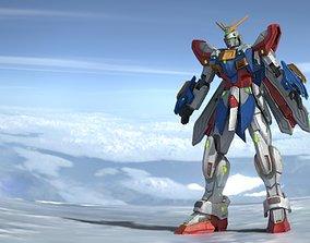 God Gundam 3D model