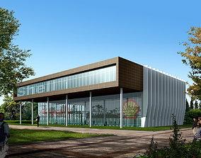 3D model Shell Office Building