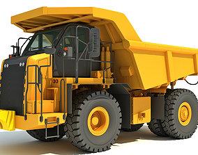 3D Off Highway Mining Dump Truck