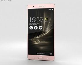 ultra 3D Asus Zenfone 3 Ultra Metallic Pink
