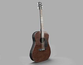 3D guitar GUITAR PBR