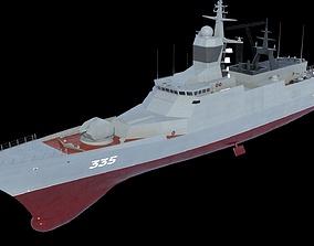 3D STEREGUSHCHY class corvette 23800
