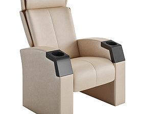Ferco Premium Opus Glide Cinema Chair 3D model