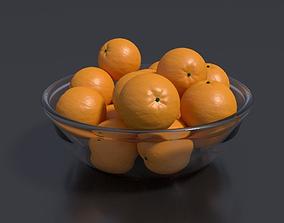 3D Bowl of Oranges