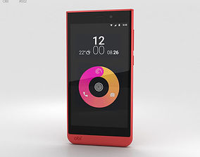 Obi Worldphone SJ1-5 Red 3D model