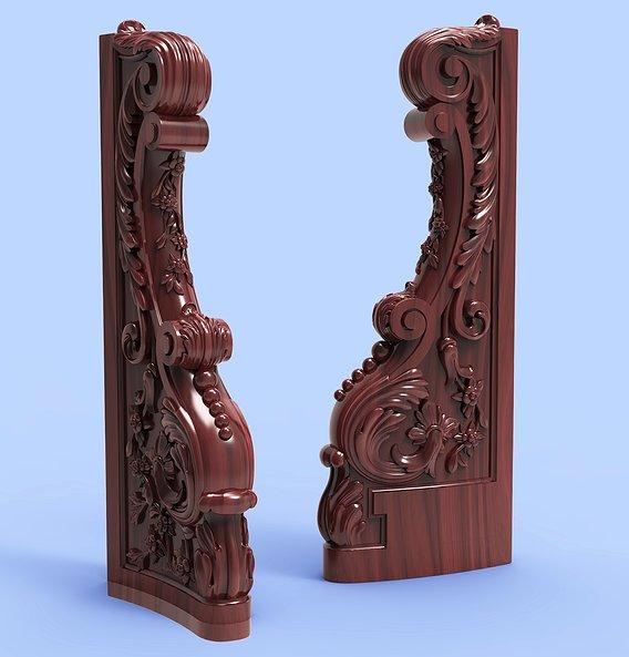 pole virgin carving