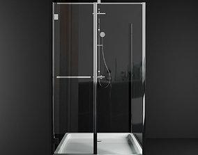 3D model Carena KDJ fresh 7q shower cabin