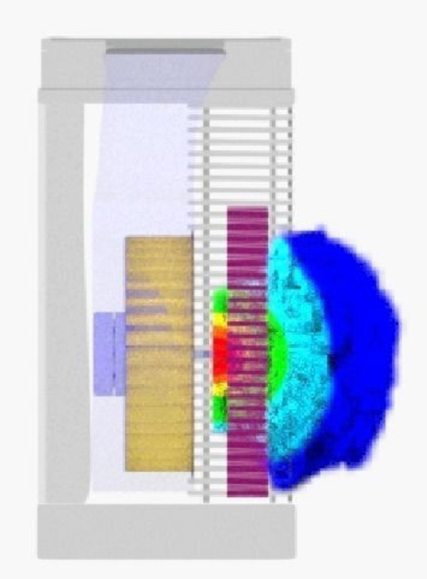 Air flow Visualization