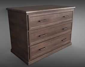 Sideboard 3D model PBR