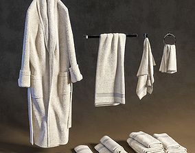 towel 3D Bath set 1
