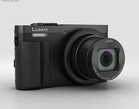 3D model Panasonic Lumix DMC-TZ70 Black