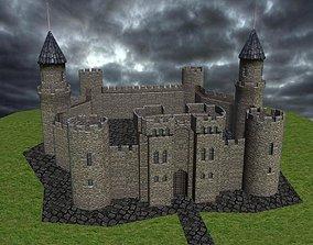 Medieval Castle 3D asset