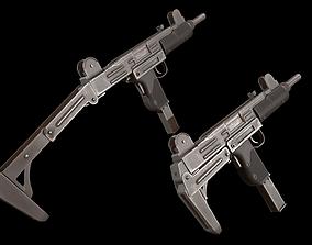 UZI Submachine Gun 3D asset